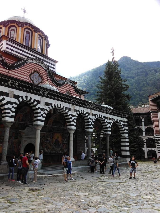 Μοναστήρι Rila στοκ φωτογραφίες με δικαίωμα ελεύθερης χρήσης