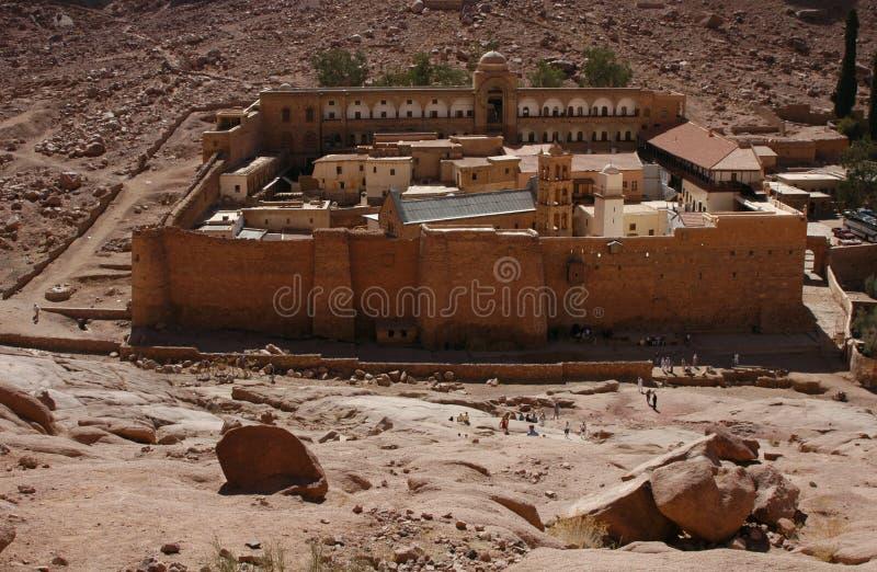 μοναστήρι s ST της Catherine στοκ φωτογραφία