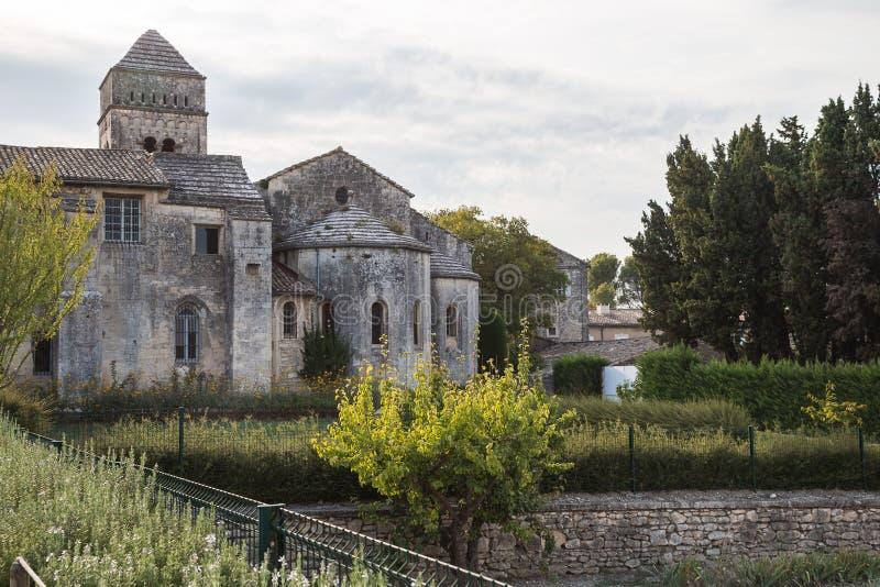 Μοναστήρι Saint-Paul σε Άγιο Remy, Προβηγκία στοκ εικόνα με δικαίωμα ελεύθερης χρήσης