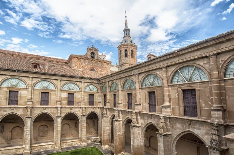 Μοναστήρι SAN Millan de Yuso στο Λα Rioja, Ισπανία στοκ φωτογραφία με δικαίωμα ελεύθερης χρήσης