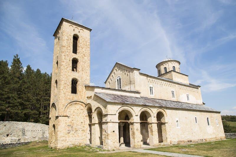 Μοναστήρι Sopocani στοκ εικόνες