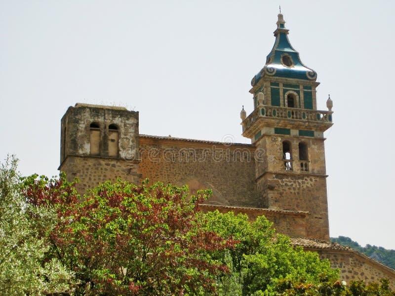 Μοναστήρι Valldemossa, Majorca, Ισπανία στοκ φωτογραφίες με δικαίωμα ελεύθερης χρήσης