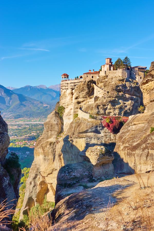 Μοναστήρι Varlaam σε Meteora στοκ φωτογραφία με δικαίωμα ελεύθερης χρήσης