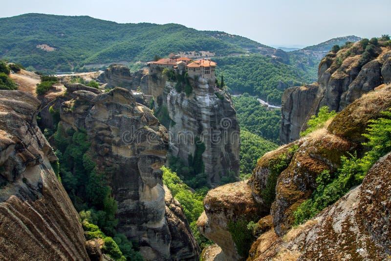Μοναστήρι Varlaam σε Meteora0 στοκ φωτογραφία