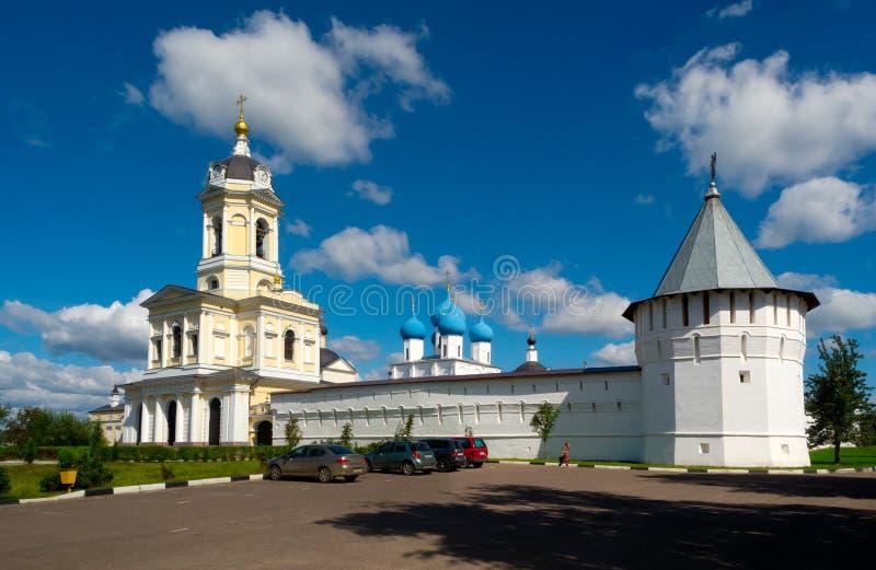 Μοναστήρι Vladychny σε Serpukhov, περιοχή της Μόσχας, Ρωσία στοκ φωτογραφία με δικαίωμα ελεύθερης χρήσης
