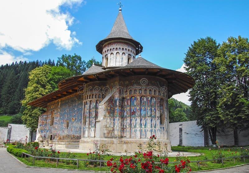 Μοναστήρι Voronet στοκ εικόνες