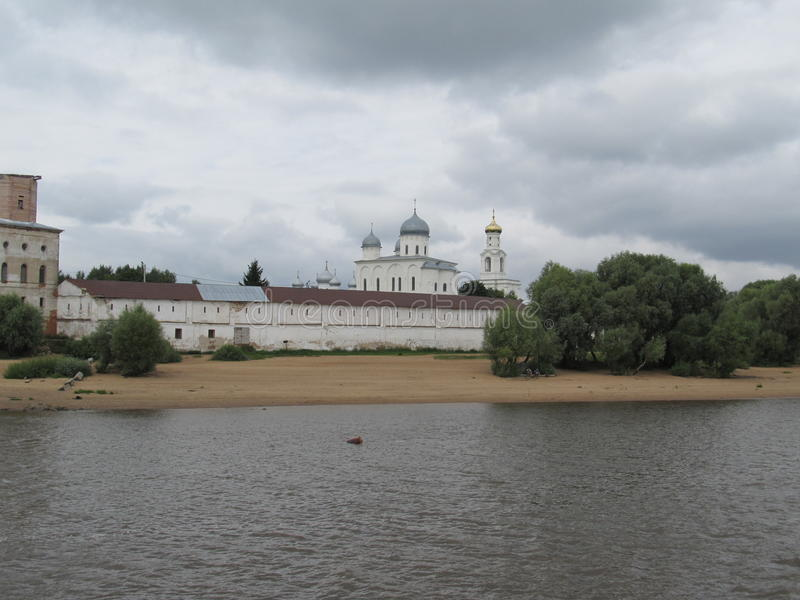 Μοναστήρι Yuriev στοκ εικόνες με δικαίωμα ελεύθερης χρήσης