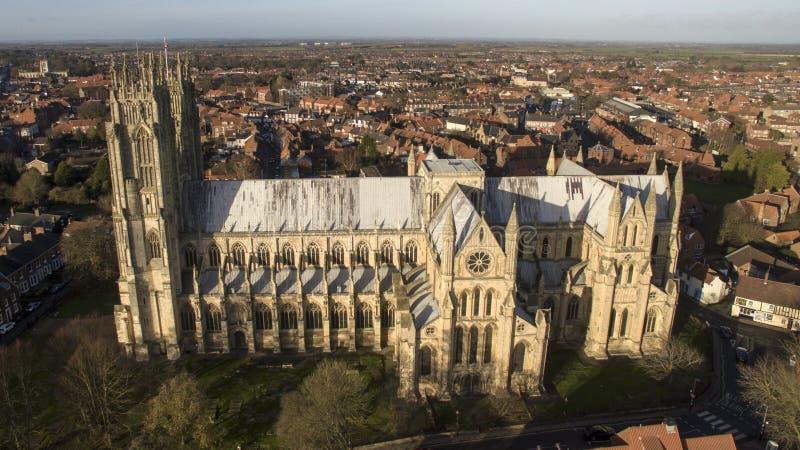 Μοναστηριακός ναός της Beverley, ορόσημο και τουριστικό αξιοθέατο, στοκ εικόνα