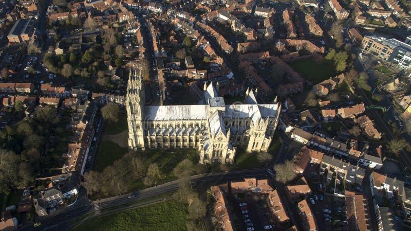 Μοναστηριακός ναός της Beverley, ορόσημο και τουριστικό αξιοθέατο, στοκ φωτογραφίες με δικαίωμα ελεύθερης χρήσης
