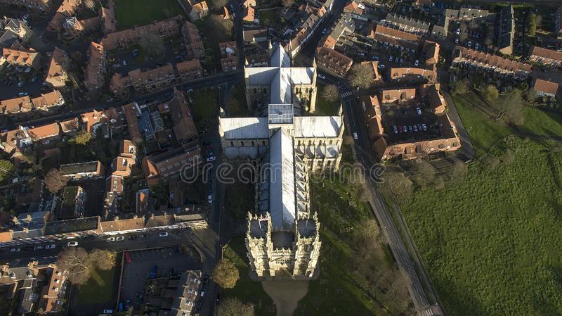 Μοναστηριακός ναός της Beverley, ορόσημο και τουριστικό αξιοθέατο, στοκ φωτογραφία