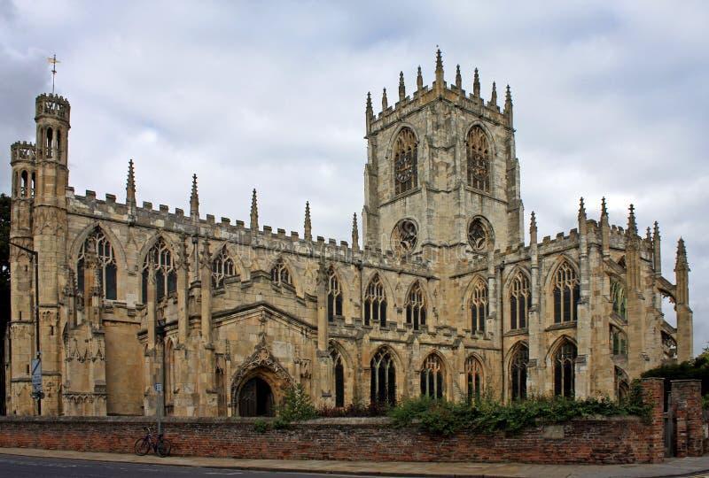 Μοναστηριακός ναός της Beverley στοκ φωτογραφία