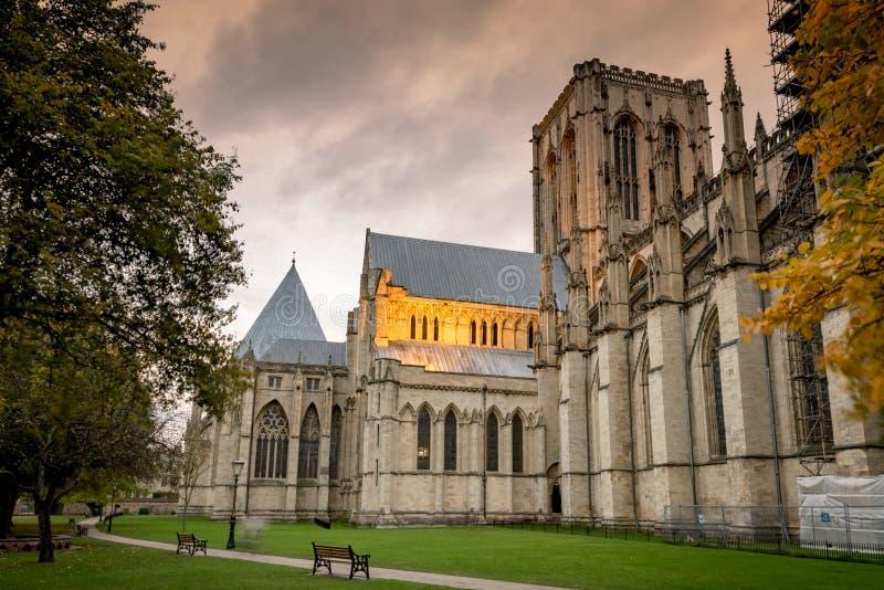 μοναστηριακός ναός Υόρκη της Αγγλίας στοκ φωτογραφίες