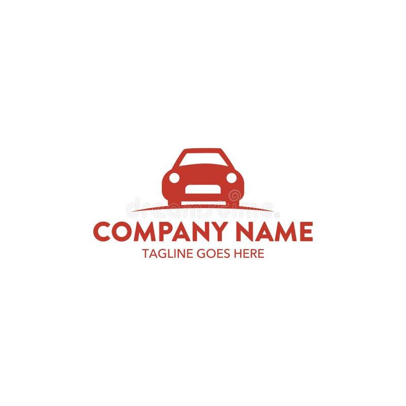 Μοναδικό λογότυπο αυτοκινήτων απεικόνιση αποθεμάτων