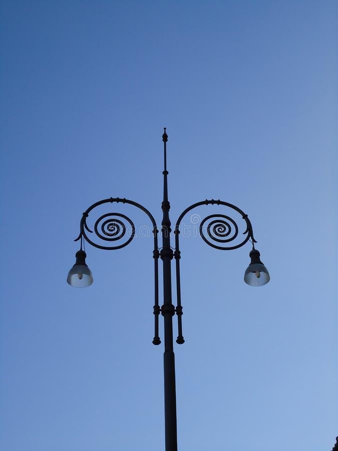 Μοναδικό Lamppost στοκ φωτογραφία με δικαίωμα ελεύθερης χρήσης