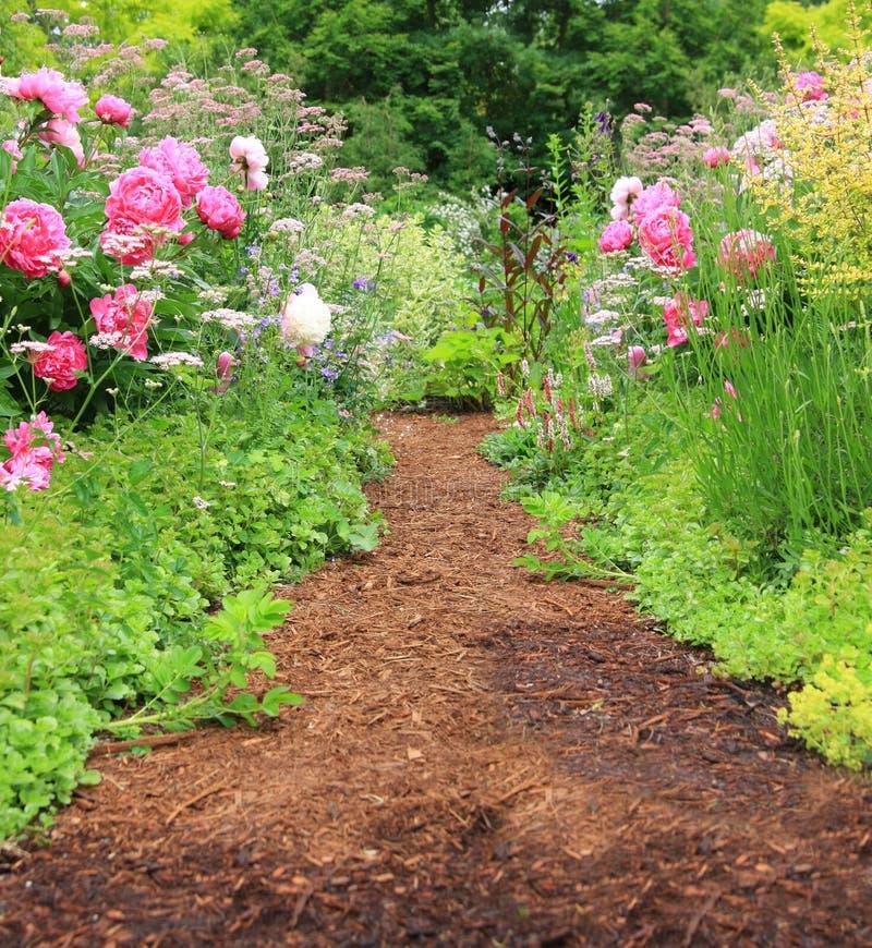 μονοπάτι κήπων στοκ φωτογραφίες