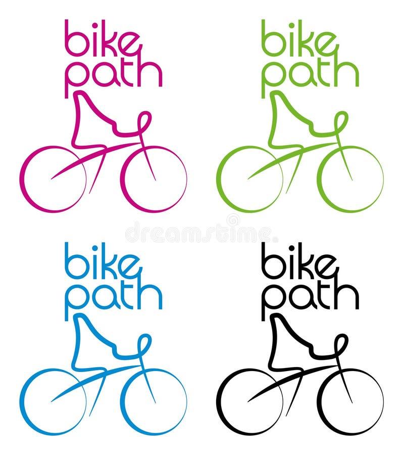 μονοπάτι ποδηλάτων απεικόνιση αποθεμάτων