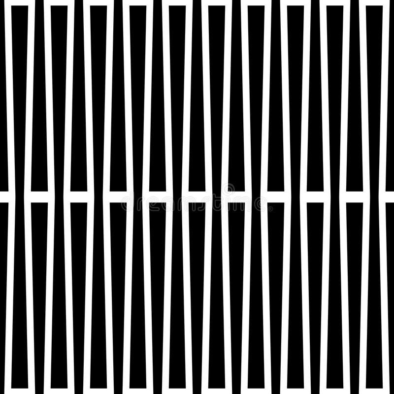 Μονοχρωματικό γεωμετρικό σχέδιο με τις γραμμές Χωρίς ραφή επαναλαμβανόμενος απεικόνιση αποθεμάτων