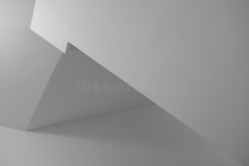 Μονοχρωματικό γεωμετρικό υπόβαθρο Minimalistic στοκ φωτογραφία