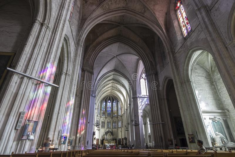 Μονπελιέ, Γαλλία στοκ εικόνες