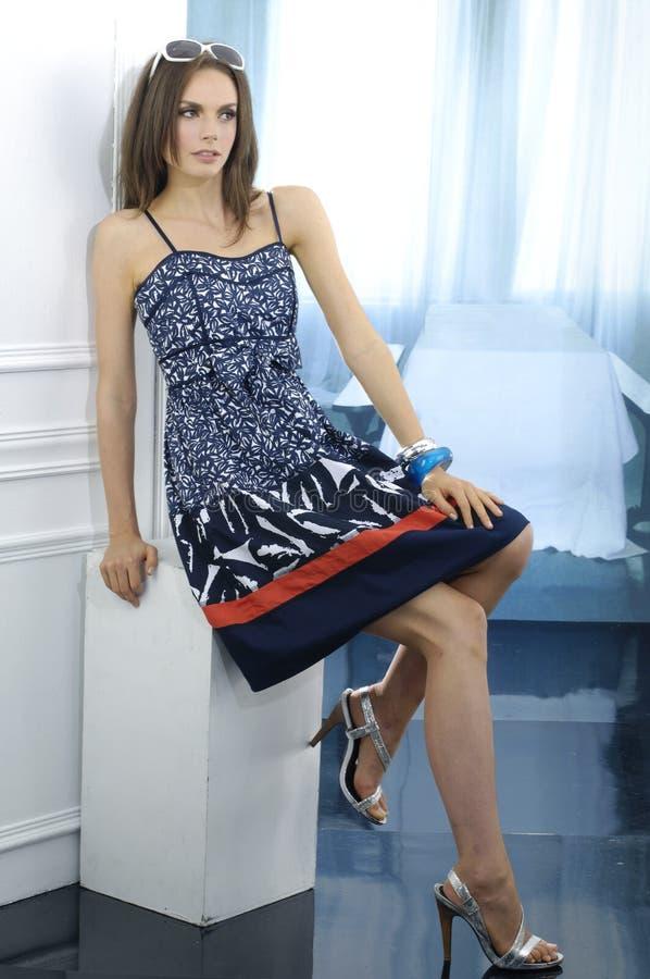 Μοντέλο μόδας στοκ φωτογραφία με δικαίωμα ελεύθερης χρήσης