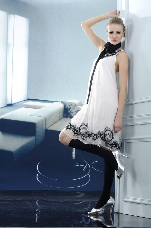 μοντέλο μόδας στοκ εικόνα
