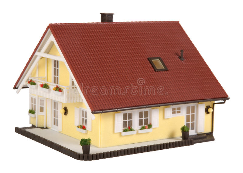 μοντέλο σπιτιών στοκ εικόνες