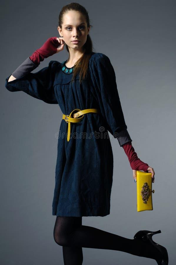 μοντέλο τσαντών στοκ φωτογραφία με δικαίωμα ελεύθερης χρήσης