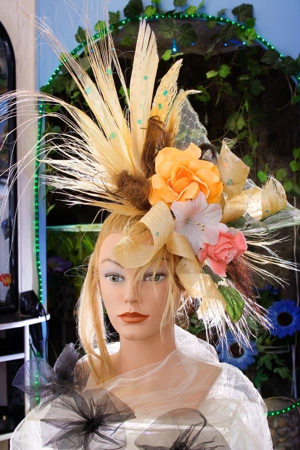 Μοντέλο Hairdress Στοκ φωτογραφίες με δικαίωμα ελεύθερης χρήσης