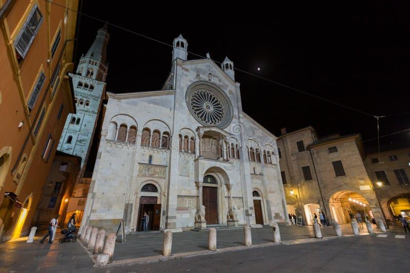 Μοντένα, καθεδρικός ναός στοκ εικόνες