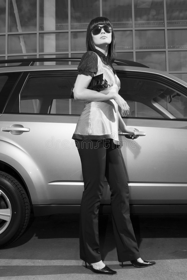 μοντέρνη γυναίκα στοκ φωτογραφίες