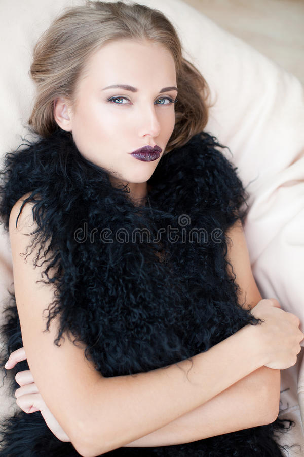 μοντέρνο κορίτσι στοκ εικόνες
