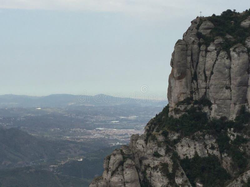Μοντσερράτ Ισπανία στοκ εικόνες