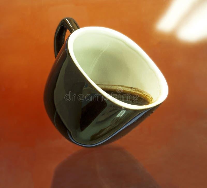 Μονωμένος καφές φλυτζανιών στοκ φωτογραφίες