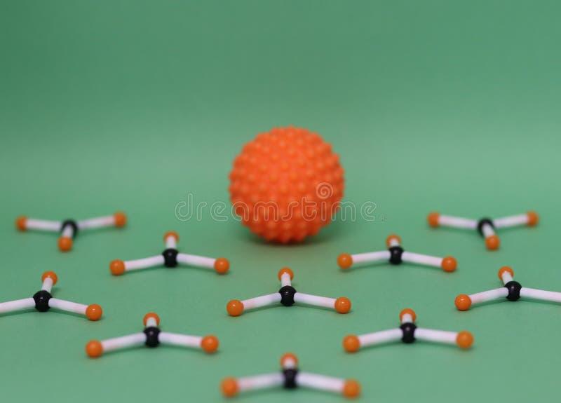 μοριακές δομές στοκ εικόνες