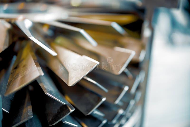 Μοριακή κενή αντλία λεπίδων αφηρημένη ανασκόπηση βιομη&ch στοκ εικόνα