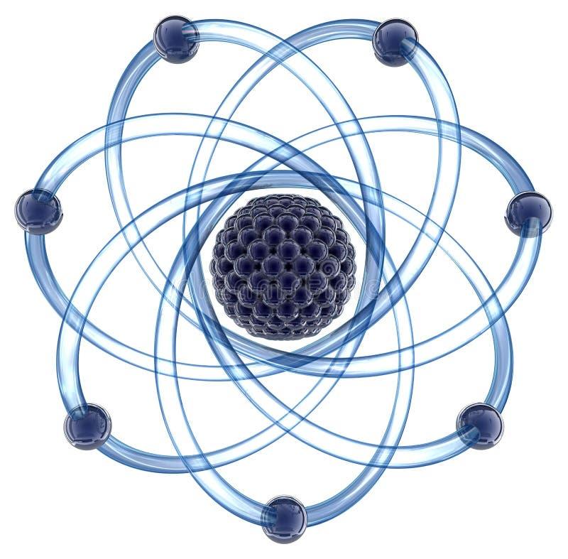 μοριακό λευκό ανασκόπηση& ελεύθερη απεικόνιση δικαιώματος