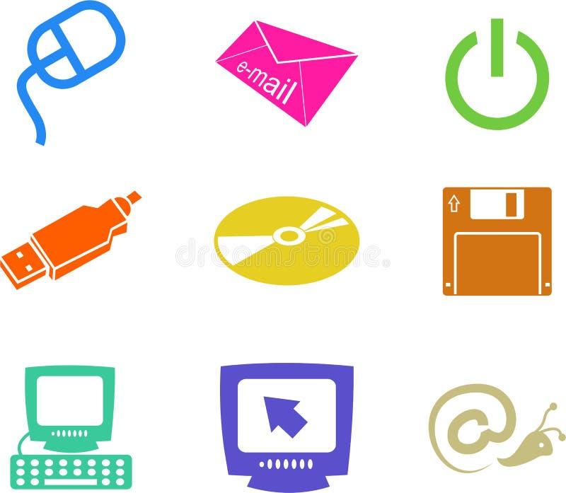 μορφές υπολογιστών απεικόνιση αποθεμάτων