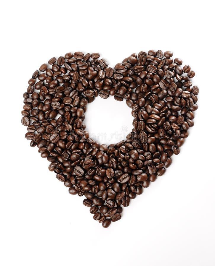 Download μορφή καρδιών καφέ φασολιώ&nu Στοκ Εικόνα - εικόνα από mocha, ομάδα: 17054277