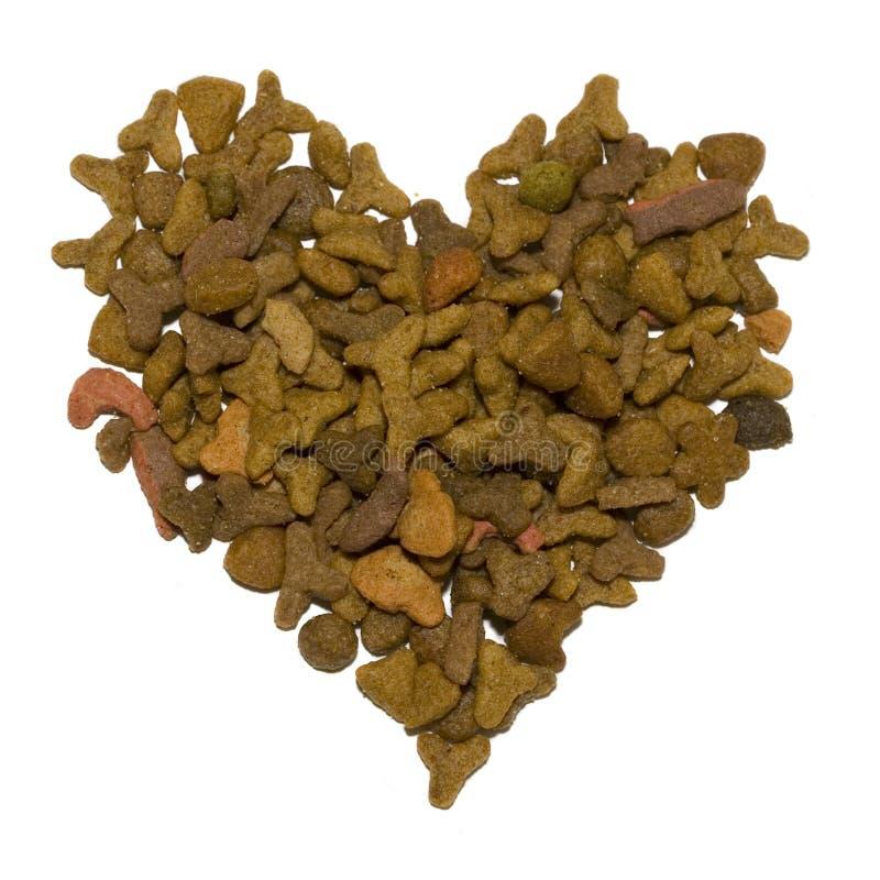 μορφή κατοικίδιων ζώων καρδιών τροφίμων στοκ φωτογραφία με δικαίωμα ελεύθερης χρήσης