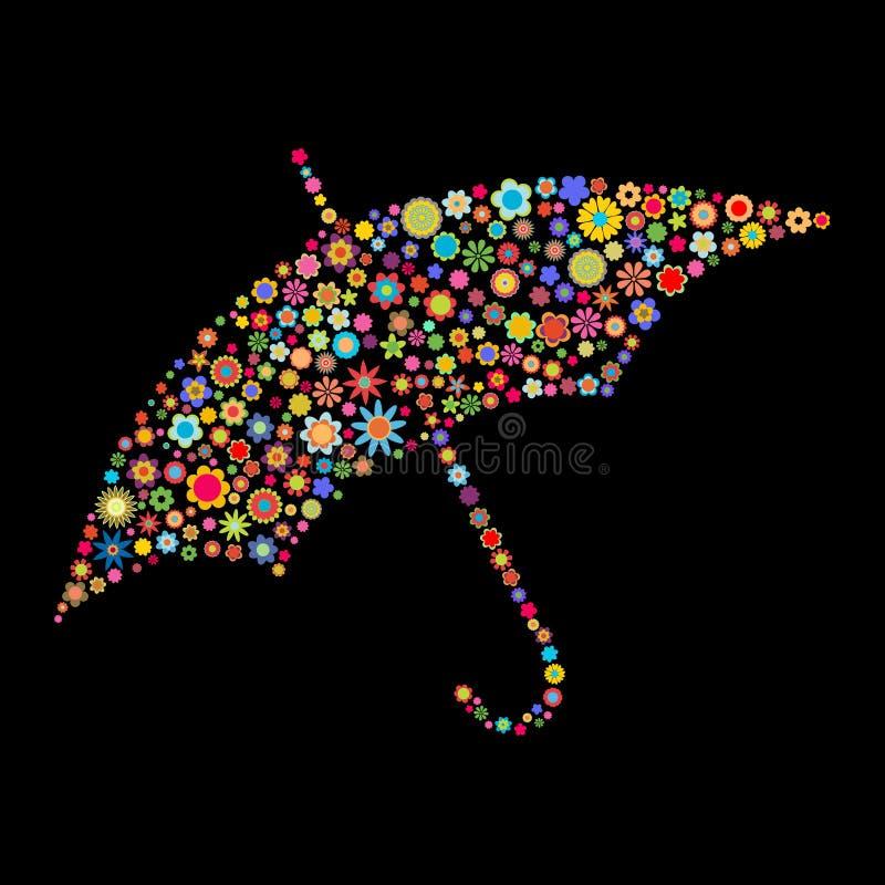 Μορφή ομπρελών απεικόνιση αποθεμάτων