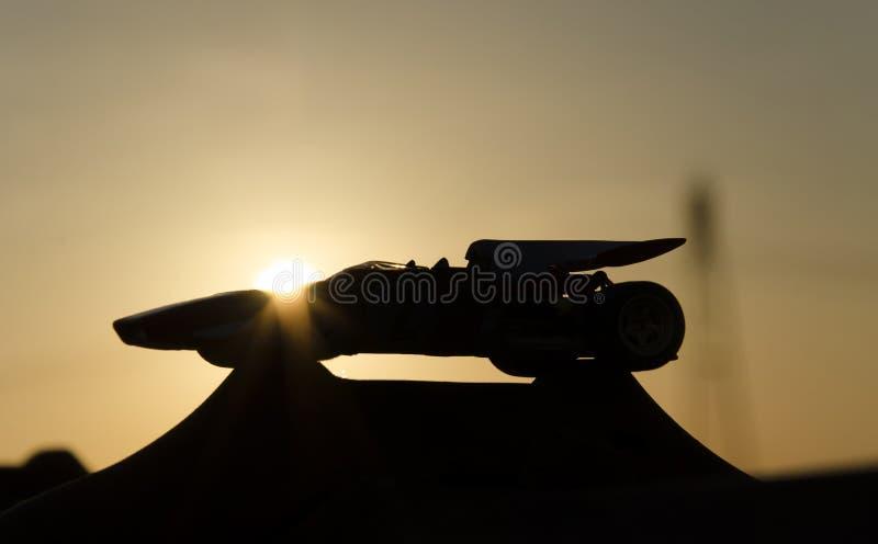 Μορφή του όμορφου αγωνιστικού αυτοκινήτου στοκ φωτογραφίες με δικαίωμα ελεύθερης χρήσης