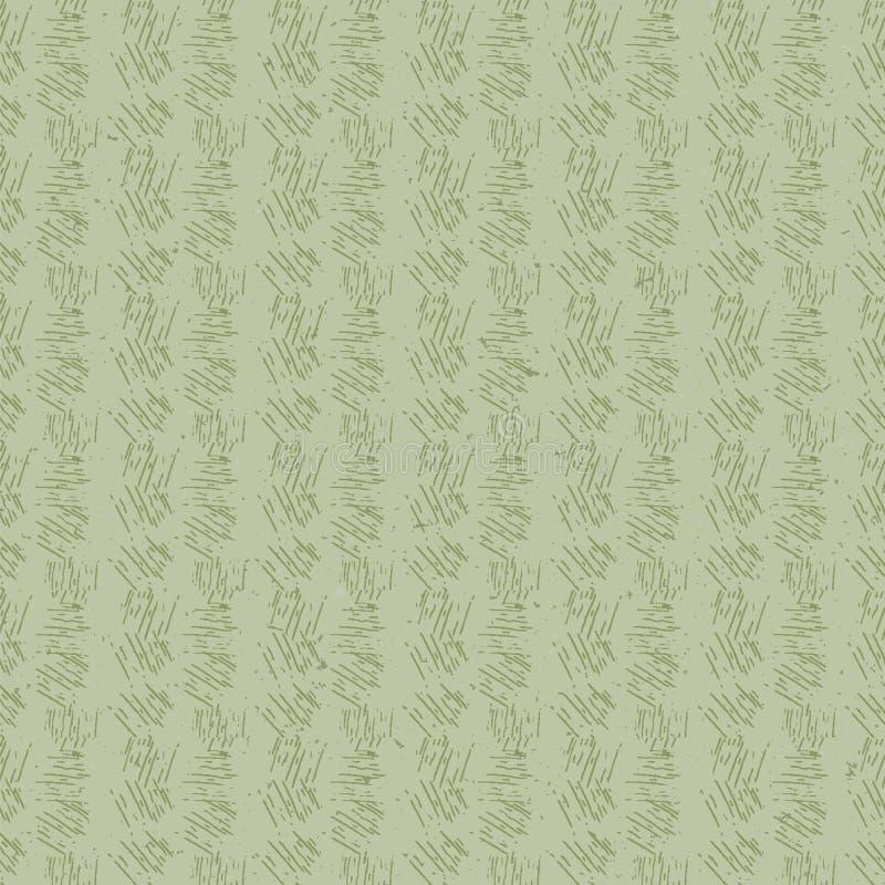 Μοτίβο χωρίς ραφή με βάση το μπαμπού, κατασκευασμένο με το χέρι Ιαπωνικά αφηρημένα γεωβοτανικά Ουδέτεροι τόνοι απαλού γρασιδιού Ε απεικόνιση αποθεμάτων