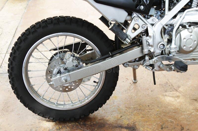 μοτοσικλέτα από το δρόμο στοκ φωτογραφία