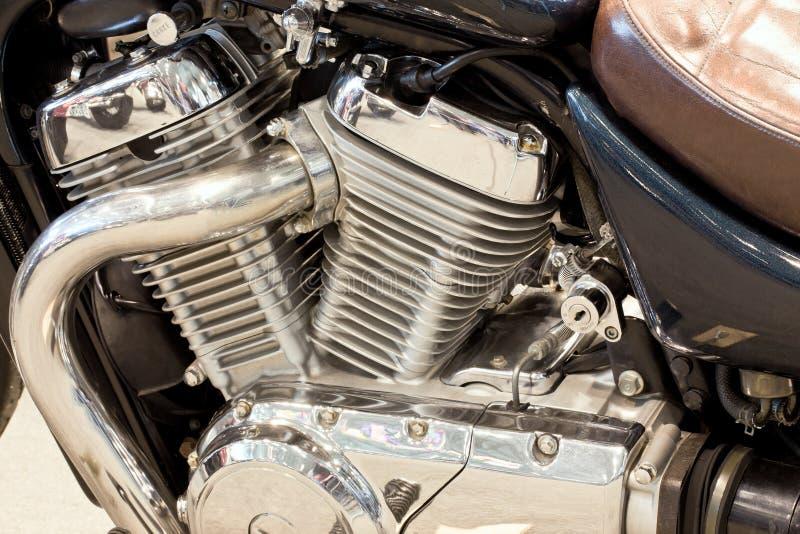μοτοσικλέτα βενζίνης μηχ&al στοκ εικόνες με δικαίωμα ελεύθερης χρήσης