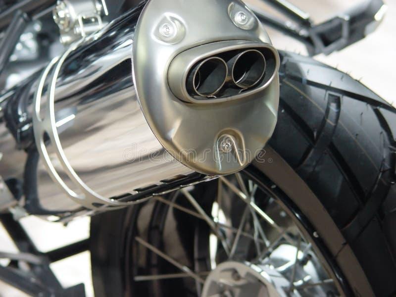 μοτοσικλέτα εξάτμισης λ&ep στοκ εικόνα με δικαίωμα ελεύθερης χρήσης