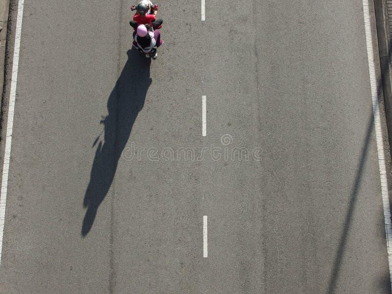 Μοτοσικλέτα μόνο στοκ εικόνα