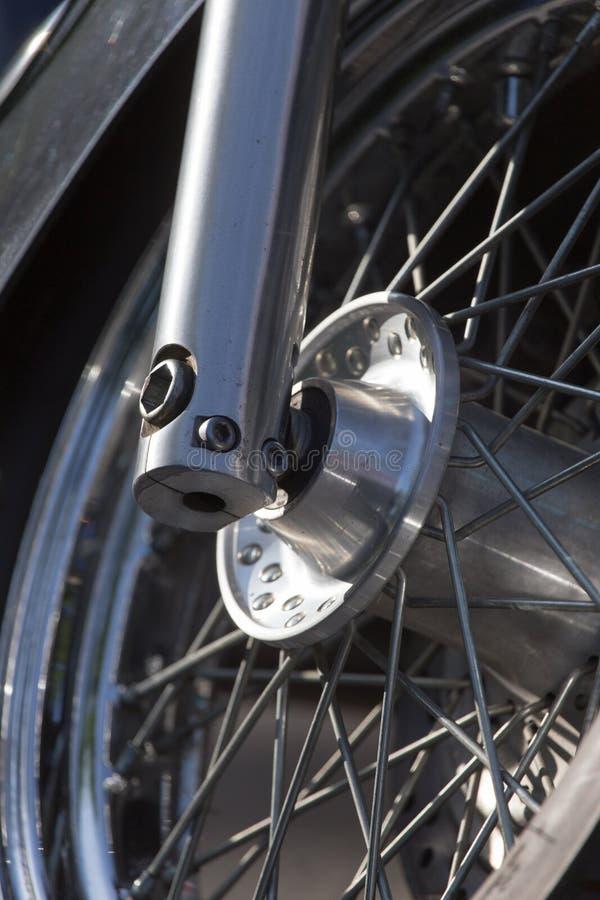 Μοτοσικλέτα ροδών στοκ φωτογραφία με δικαίωμα ελεύθερης χρήσης