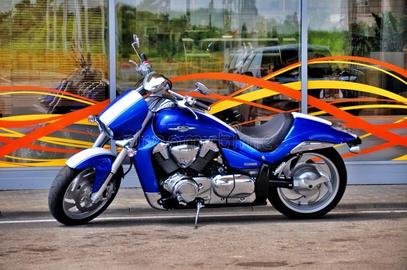 Μοτοσικλέτα Οδικό ποδήλατο - ταχύπλοο σκάφος στοκ εικόνες