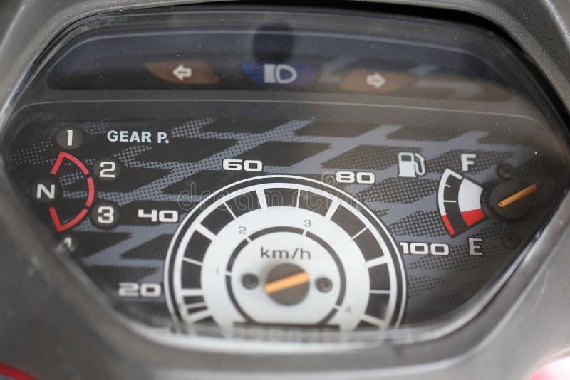 Μοτοσικλέτα οδομέτρων στοκ φωτογραφία με δικαίωμα ελεύθερης χρήσης