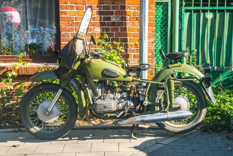 μοτοσικλέτα παλαιά στοκ εικόνα